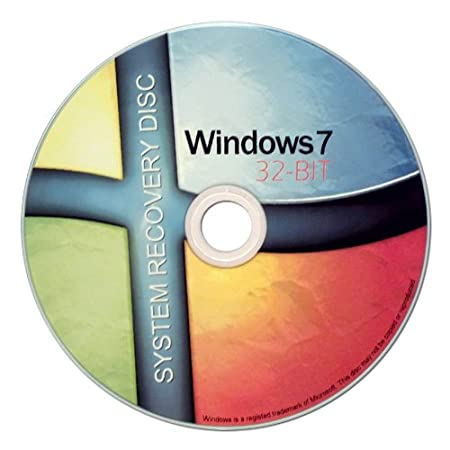 Windows 7 32 Bit Recovery Boot Disc Disk CD [ALL VERSIONS, ULTRA EDITION]
