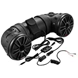 BOSS AUDIO ATV25B Powersports Plug and Play Audio System with Weather Proof 6.5 Inch Component Speakers ,Bluetooth Audio Streaming, Built in 450 Watt Amplifier.