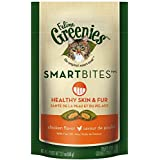 Greenies Smartbites Skin and Fur Chicken Cat Treats, 2.1-Ounce