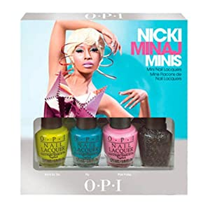 OPI Nicki Minaj Mini Nail Laquers, 1/8th Sizes