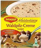 Maggi Meisterklasse Waldpilzcreme Suppe, 13er Pack (13 x 500 ml Beutel)