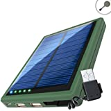 ReVIVE ReStore SL5000 Solar Phone Charger and Power Bank with Dual USB Charging Ports - Works with Apple , Samsung , LG and More Smartphones , Tablets and MP3 Players