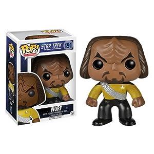 Funko POP TV: Star Trek The Next Generation - Worf Action Figure