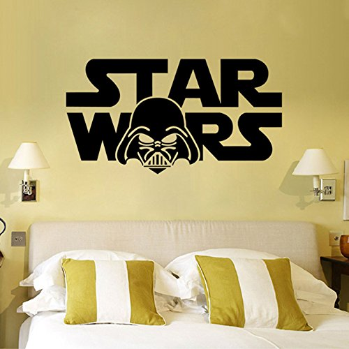 [Starwar Darth Vader Removable Wall Stickers Home Room Vinyl Mural DIY Decal Kid Bedroom Art Decor 12
