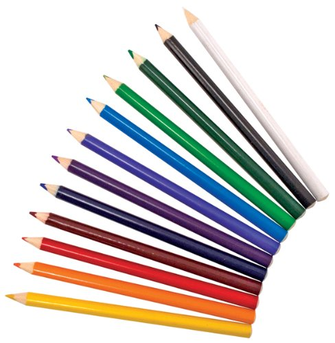 Jumbo Triangular Colored Pencils (set of 12) Case Pack 3