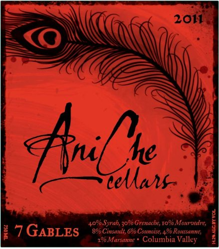 2011 Aniche Cellars 7 Gables Red Blend 750 Ml
