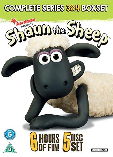 ひつじのショーン シーズン3&4 コンプリート DVD-BOX (50エピソード, 360分) BBC Shaun the Sheep アニメーション [DVD] [Import] [PAL, 再生環境をご確認ください, パソコン又はPAL再生可のプレイヤーで再生する必要があります]