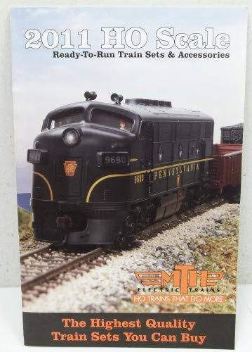 MTH 2011HO Scale Ready-To-Run Train Sets