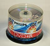 51o nhW8ceL. SL160  Philips DR8S8B50F/17 50 Pack 8X DVD+R DL Spindle