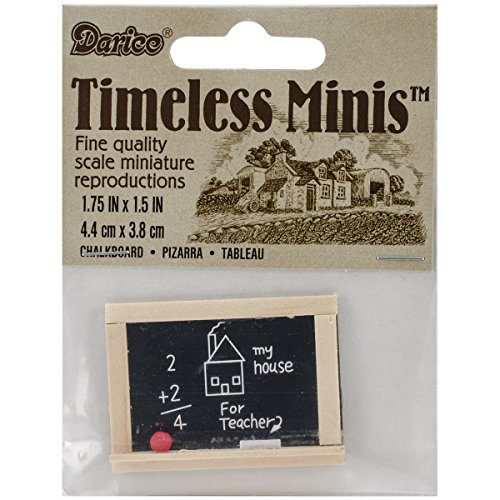Miniature - Chalkboard - 1.75 x 1.5 inches - 1