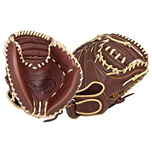 Buy Louisville Slugger 32.5-Inch FG 125 Series Catchers Mitts, Brown, Right Hand Throw by Louisville Slugger