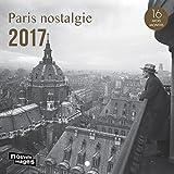Nouvelles Images Calendrier 2017 Paris 16 mois 14,5 x 14,5 cm Noir/Blanc...