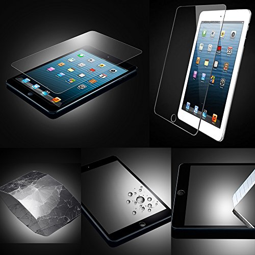 Xtra-Funky Exclusive High Quality Real 100% Genuine Tempered Glass Screen Protector For Ipad Air 1 & 2 (Ipad 5 & 6)