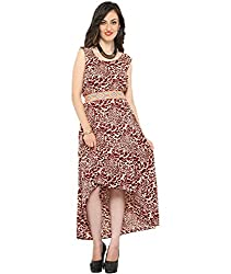Bedazzle women's High Low Dress