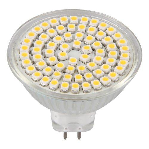 Mr16 Gu5.3 Warm White 3528 Smd 72 Leds Home Spot Light Lamp Bulb Spotlight 300Lm