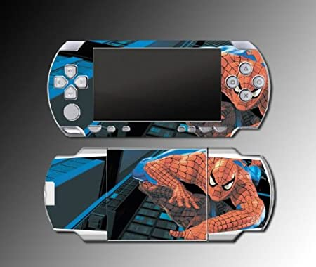 Spiderman Game Vinyl Decal Cover Skin Protector #1 for Sony PSP 1000 Playstation Portable