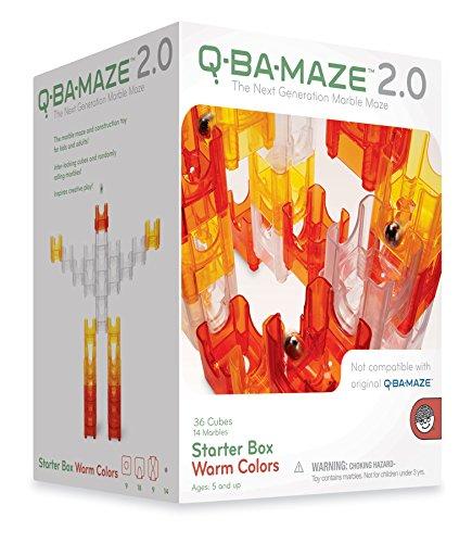 Mindware Q-Ba-Maze Warm Colors front-605171
