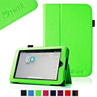 FINTIE (Green) Slim Fit Folio Case For Barnes & Noble Nook HD 7 Inch Tablet (Support Auto Sleep/Wake Function)...