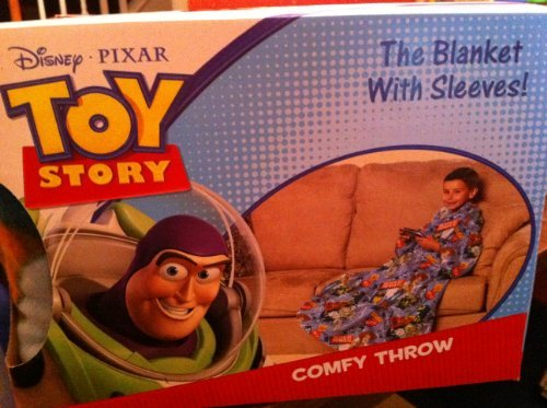 Toy Story Snuggie Blanket With Sleeves