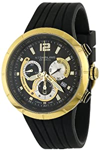 Stuhrling Original Men's 224.33363 Aviator Phoenix Swiss Quartz Chronograph Watch
