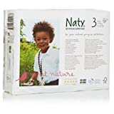 Naty Chlorine-free ECO Diapers Size 3 - 31 Ct (Pack of 4)