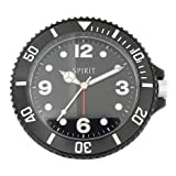Watch Face Alarm Clock - Black