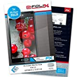 AtFoliX FX-Clear Premium Protective Display Film for LG Optimus L7 II P710 Crystal-Clear Pack of 3