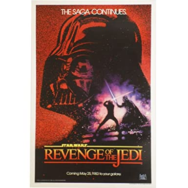 Return of the Jedi (Advance) Original Cinema Poster