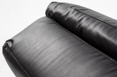 Miraseo MYHHRS62BN Niko Chaiselongues - Relaxliege, hochwertiger Loungestuhl Fernsehsessel in Napalonleder Creme, edler design comfort TV Liegesessel mit den Maßen: 168 x 73 x 86 cm