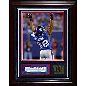 Steiner Sports NFL New York Giants Michael Strahan 11x14 igned Turf Collage with 8 x... by Steiner Sports