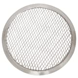 Thunder Group ALPZ10 Seamless-Rim Aluminum Pizza Screen, 10 Inch