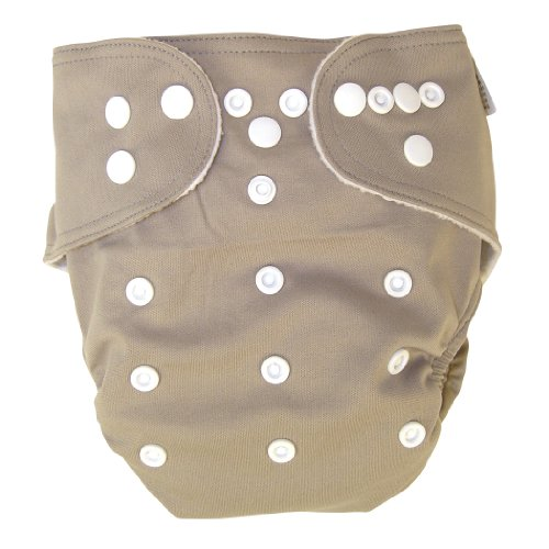 Trend Lab Cloth Diaper, Simply Taupe front-253608