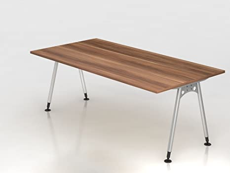 Supporto scrivania a 200x 100cm, prugna