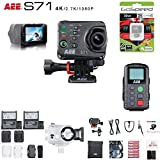 AEE S71 16MP 4K Wi-Fi Action Camera Bundle (32GB Battery Edition)