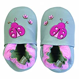 Tommy Tickle Soft Soled Shoes (Ladybug, Large)