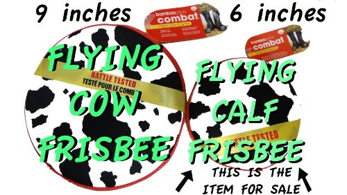 Flying Cow Dog Toy