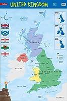 United Kingdom: Wall Map