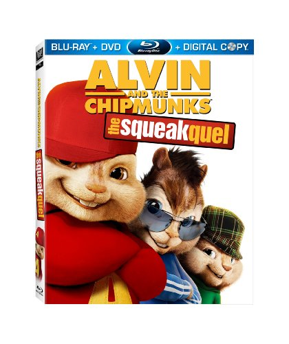 Alvin and the chipmunks 2 the squeakquel blu ray dvd digital copy
