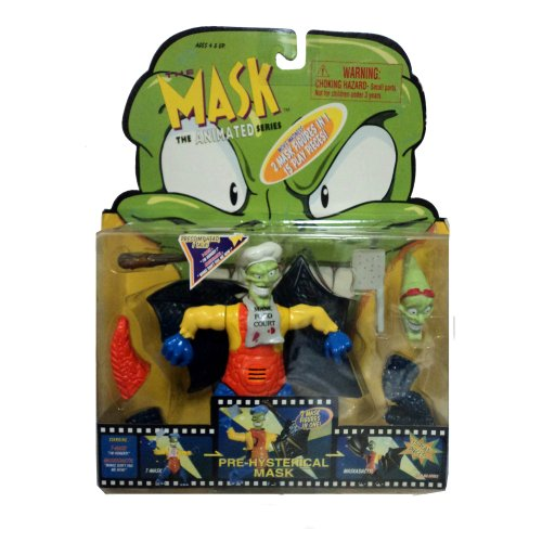 The Mask Animated Series Pre-hysterical mask Action Figure - 1