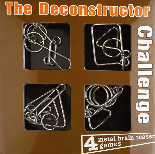 The De-constructor Challenge: 4 Metal Brain Teaser 