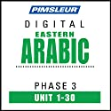 Arabic (East) Phase 3, Units 1-30: Learn to Speak and Understand Eastern Arabic with Pimsleur Language Programs  by Pimsleur