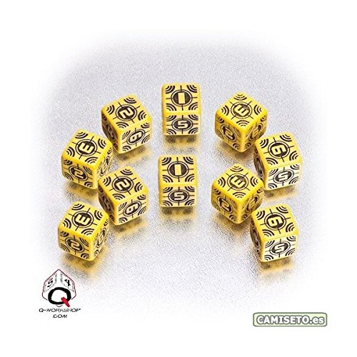 Axis and Allis Sniper Dice 5 Board Game, Yellow/Black - 1