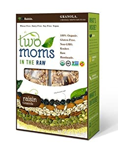 Two Moms in The Raw - Gluten Free Organic Granola Raisin - 8 oz.