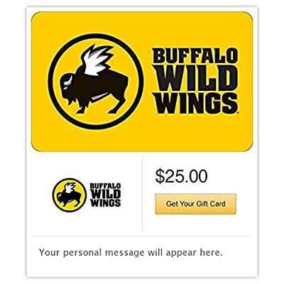 Buffalo Wild Wings Gift Cards - E-mail Delivery