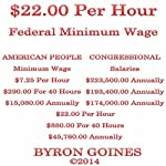 $22.00 Per Hour Federal Minimum Wage   Byron Goines