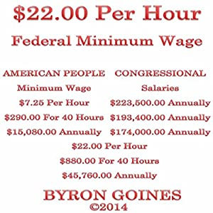 $22.00 Per Hour Federal Minimum Wage