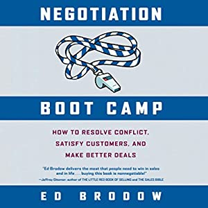 Negotiation Boot Camp Audiobook