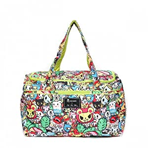 Ju-Ju-Be Starlet Travel Duffel Bag with 2 Zippered Pockets from Ju-Ju-Be
