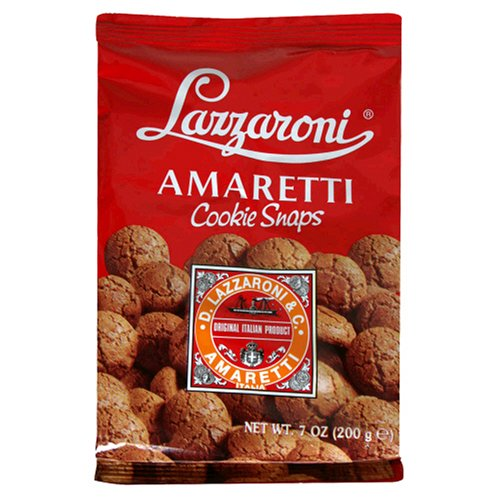 Buy Lazzaroni Amaretti Cookie Snap, 7-Ounce Bag (Pack of 6) (Lazzaroni, Health & Personal Care, Products, Food & Snacks, Snacks Cookies & Candy, Cookies)