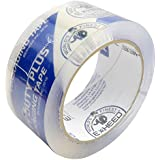 EXHEED® Packaging Tape Heavy Duty Plus 3.1mil - Ultra Clear Package Tape, 1.88 Inch x 54.6 Yards, Crystal Clear 1 Roll
